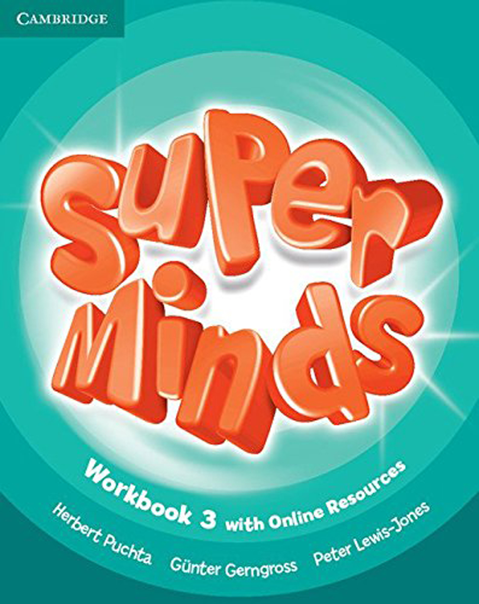 Super Minds: Level 3: Workbook super minds level 6 workbook with online resources