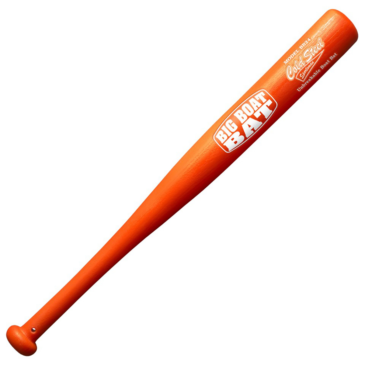 Бита бейсбольная Cold Steel Boat Bat, 60,9 смCS/91BTBZБейсбольная бита Cold Steel Boat Bat определенно вам понадобится, если вы собрались приобщиться к такой увлекательной игре, как бейсбол. Бита изготовлена из ударопрочного полипропилена путем точного литья подавлением, она не дает трещин, не коробится и не расслаивается, как это обеспечивает надежный, безопасный, нескользящий хват даже если у вас холодные, мокрые или грязные руки.Сегодня профессиональный бейсбол привлекает на стадионы миллионы зрителей и развлекает миллионы людей, которые слушают или смотрят трансляции по радио и телевидению.Длина: 60,9 см.