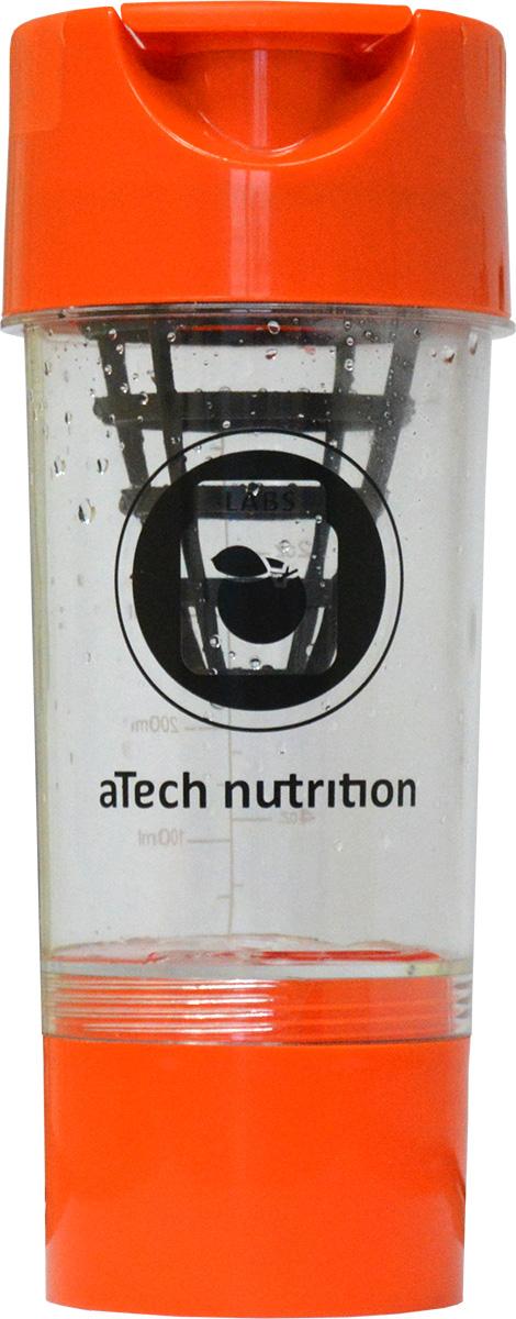Шейкер aTech Nutrition Циклон, 0,6 л4630019671463Шейкер aTech Nutrition Циклон изготовлен из ПВХ. Сетка в виде конуса обеспечит максимально быстрое и качественное перемешивание содержимого шейкера. Объём дополнительного контейнера составляет порядка 200 мг. В нем вы можете хранить спортивные добавки. Когда они вам понадобятся, просто открутите контейнер и высыпьте всё содержимое в шейкер. Теперь, вместоупотребления фастфуда, вы сможете подзарядить ум и тело здоровым и полезным источником энергии, где угодно, когда угодно. На прозрачной колбе шейкера нанесена мерная шкала с легко читаемыми данными. Его прочная конструкция и герметичная крышка позволит вам использовать его с легкостью снова и снова! Такой шейкер станет вашим незаменимым помощником в любомприключении!