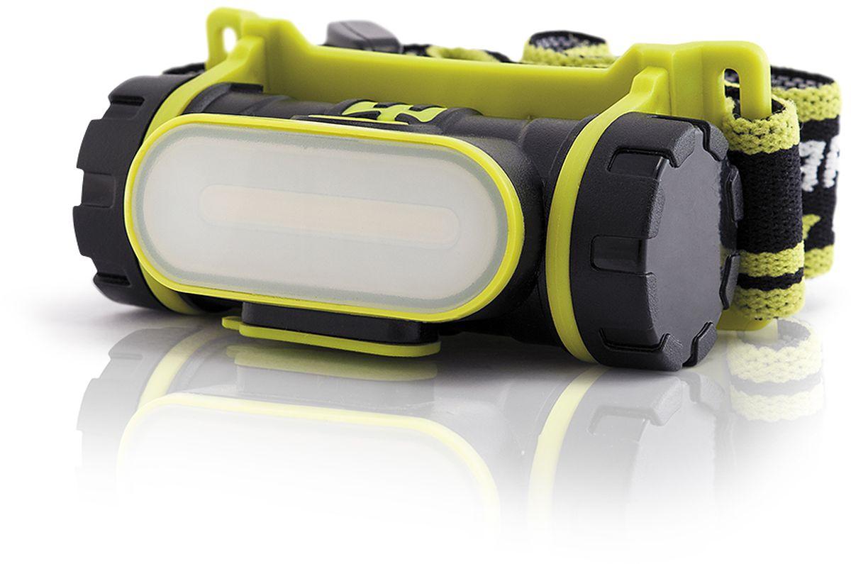 Фонарь налобный Яркий Луч LH-190A. Cobra4606400105510Аккумуляторный налобный фонарь LH-190A COBRA? Современный светодиод Cob? Нейтральный свет, приближенныйк солнечному (4500К)? Питание от Li-Ion аккумулятора формата 18650 (аккумулятор 2200 мАч входит в комплект)? Три режима работы: 190, 60 и 10 лм ? USB-кабель (входит в комплект)? Индикатор заряда аккумулятора