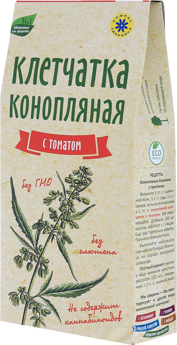 Компас Здоровья С томатом клетчатка конопляная, 150 г компас здоровья корица молотая 60 г