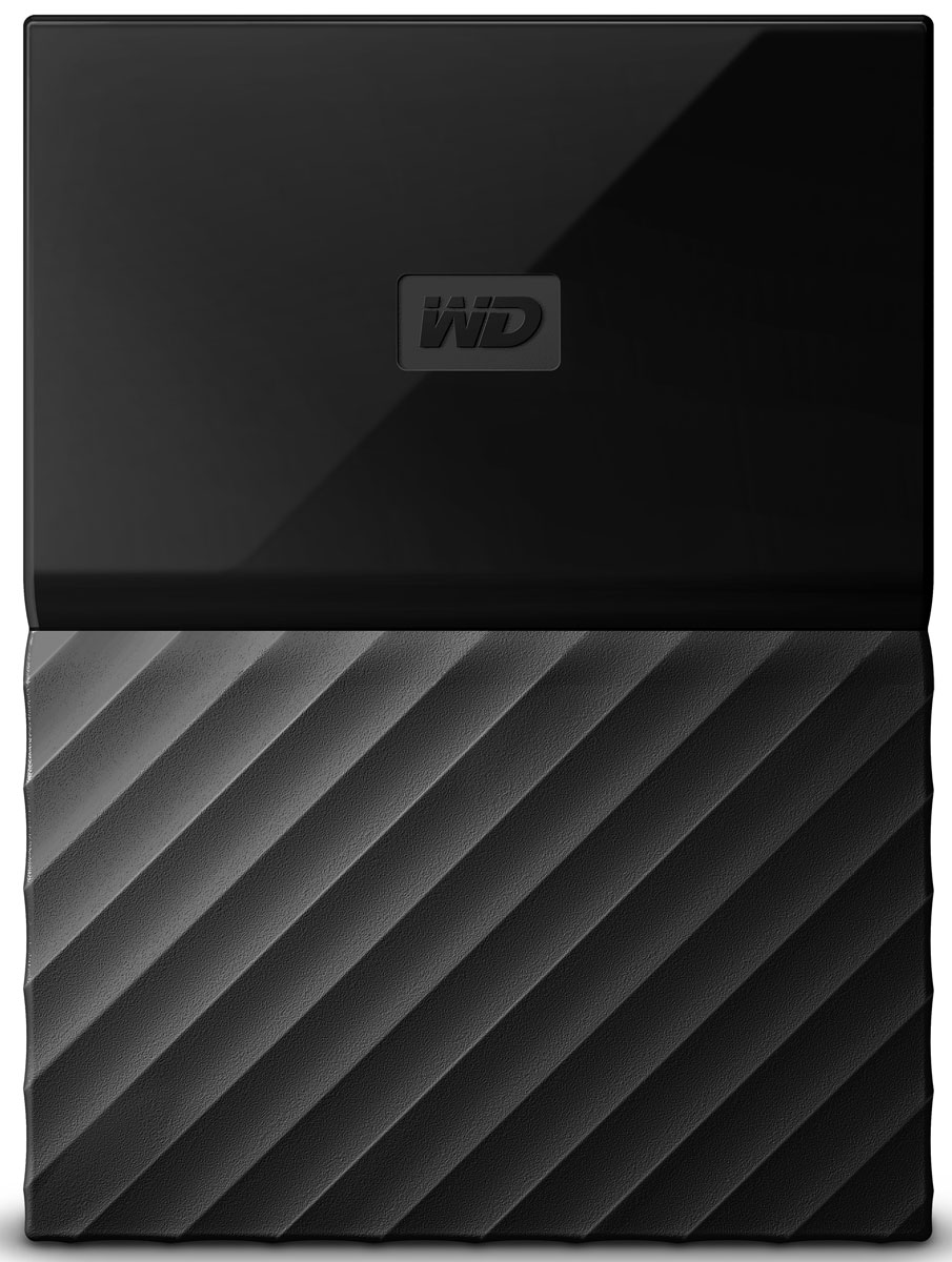 WD My Passport 4TB, Black внешний жесткий диск (WDBUAX0040BBK-EEUE) - Носители информации