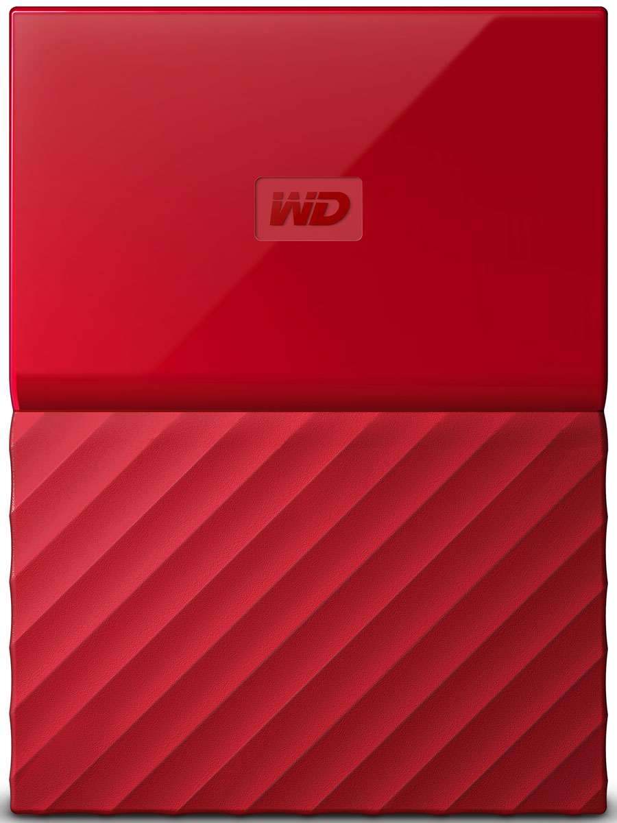 WD My Passport 3TB, Red внешний жесткий диск (WDBUAX0030BRD-EEUE) - Носители информации