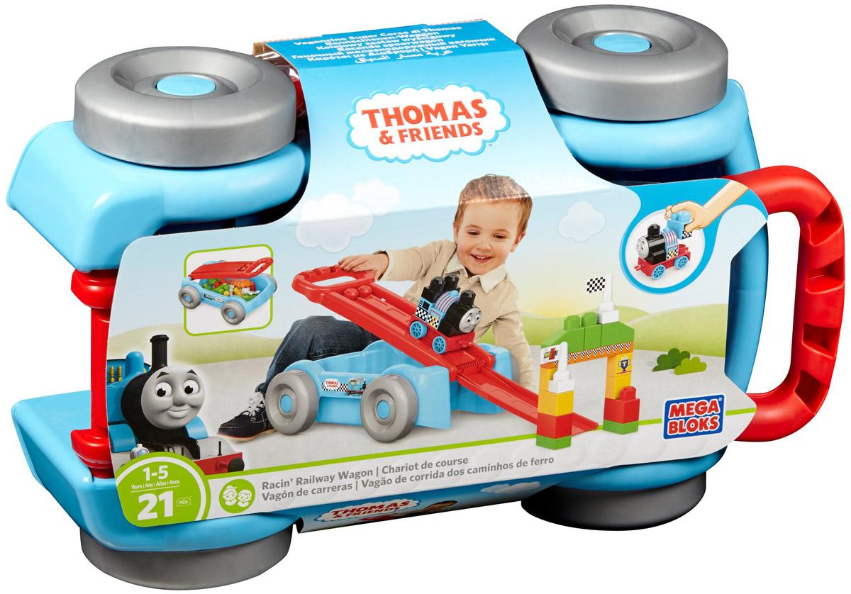 Mega Bloks Thomas & Friends Конструктор Гоночный железнодорожный вагончик eichhorn вагон с цистерной