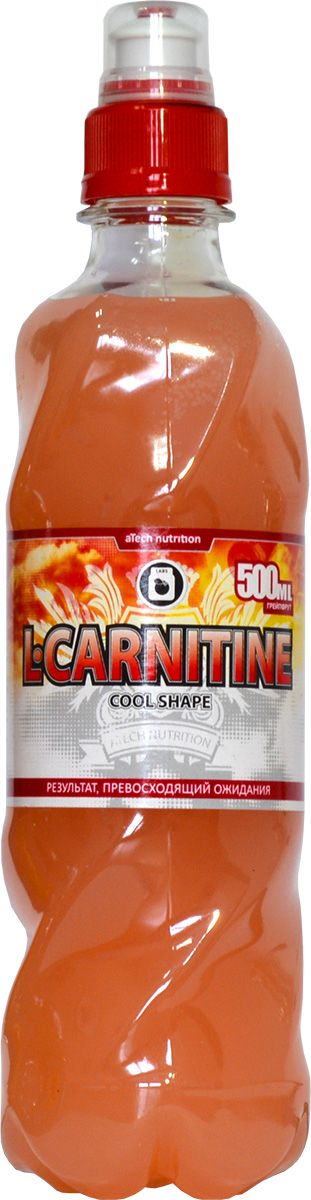 "L-карнитин aTech Nutrition ""L-Carnitine Cool Shape"", грейпфрут, 500 мл"