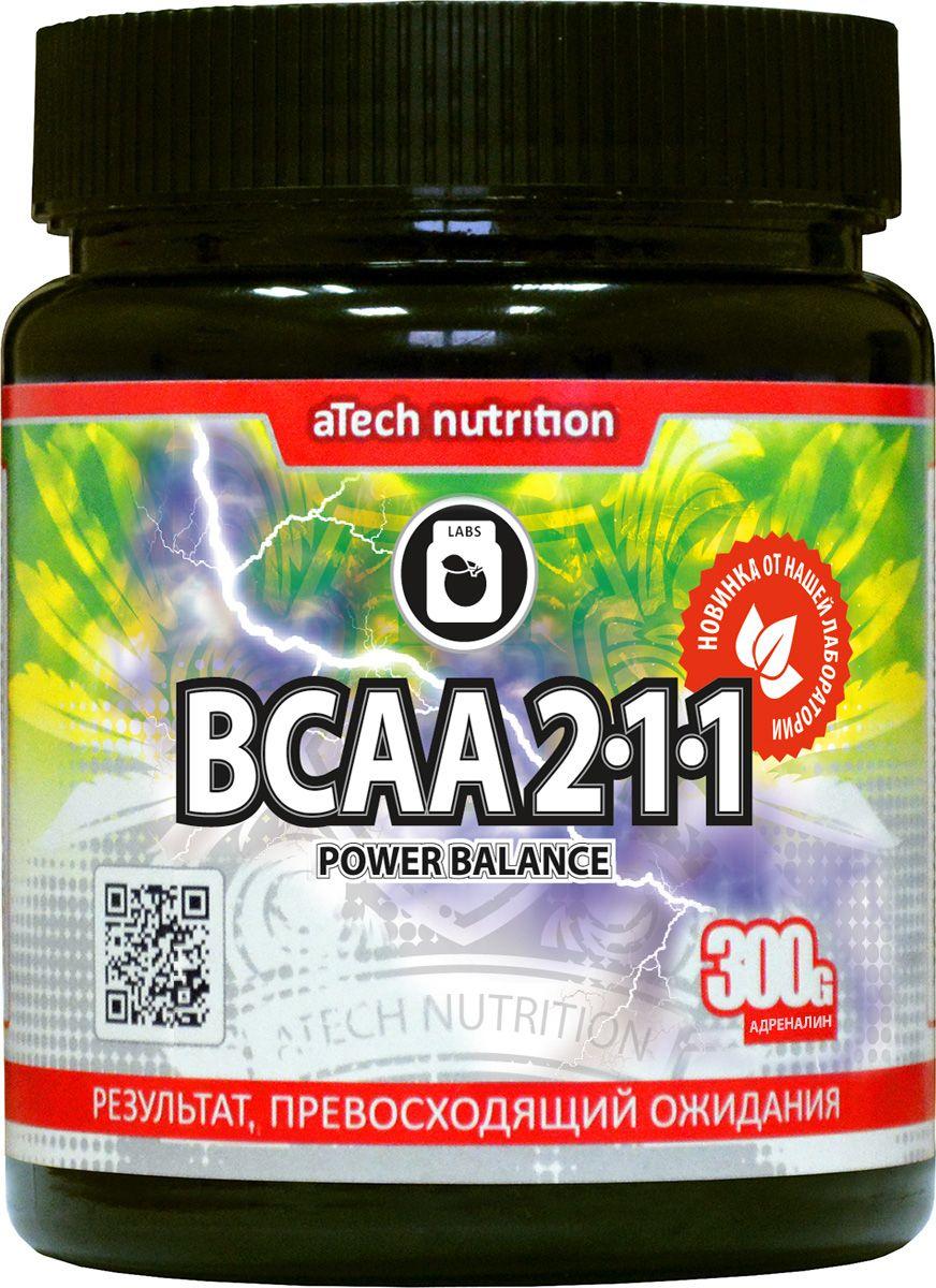 Комплекс аминокислотный aTech Nutrition BCAA 2:1:1 Power Balance, адреналин, 300 г4630019670237ВСАА 2:1:1 от aTech Nutrition это классический комплекс из трех незаменимых аминокислот с разветвленными боковыми цепями - лейцина, изолейцина и валина в соотношении 2:1:1 соответственно.Применение: смешайте одну порцию (6 г порошка – одна мерная ложка) c 250-300 мл воды / сока комнатной температуры. В случае интенсивного перемешивания возможно временное появление пены. Для достижения максимального эффекта принимайте BCAA 2:1:1 ежедневно: в дни тренировок - до и после физических нагрузок, в дни отдыха - с первым и последним приемом пищи, или в соответствии с вашей индивидуальной программой питания.Растворимые волокна акации с пребиотическим эффектом способствуют максимальному усвоению аминокислот, нормализуют работу желудочно-кишечного тракта и снижают уровень холестерина в крови.Сбалансированный состав натуральных ароматизаторов позволил добиться ярких вкусов, которые не оставят равнодушным ни профессионала, ни новичка.Состав: лейцин, изолейцин, валин, растворимые пищевые волокна акации, ароматизатор натуральный со вкусом гуараны, подсластитель сукралоза.Как повысить эффективность тренировок с помощью спортивного питания? Статья OZON Гид