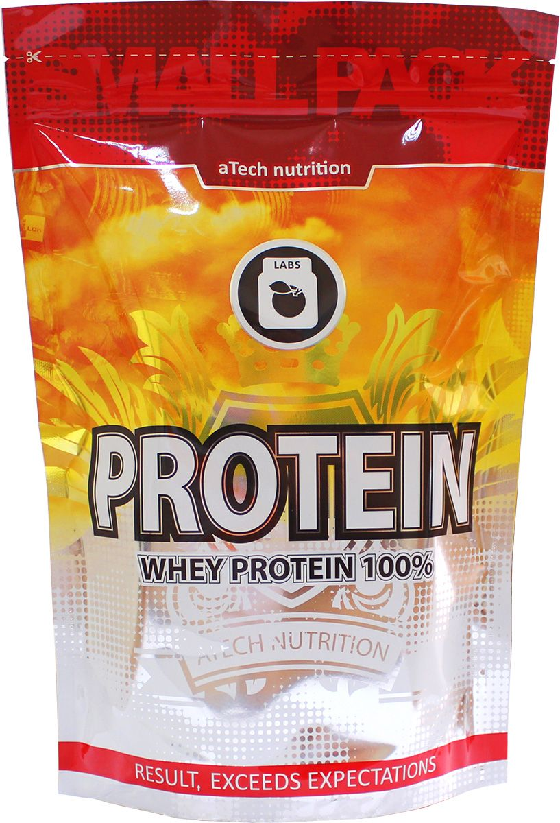 Протеин cывороточный aTech Nutrition Whey Protein 100%, ваниль, 1000 г4630019670442Whey Protein 100% - продукт в категории белкового спортивного питания под aTech Nutrition, обладающий сбалансированным составом аминокислот на основе обогащенной витаминами сывороточного белка, незаменимого в программах коррекции веса или увеличения мышечной массы и является первоклассным дополнительным источником белка к основному рациону питания. Продукт незаменим в программах коррекции веса, увеличения мышечной массы, лечебно профилактического, диетического и здорового питания. Он является дополнительным источником белка к основному рациону и обладает сбалансированным содержанием витаминов и минералов. Легко размешивается и растворяется без комочков. Сыворотка обладает насыщенным приятным вкусом как с молоком так и с обычной водой, что важно для людей, не переносящих лактозу. Приготовление: сывороточный протеин Whey Protein 100% очень прост в приготовлении - достаточно смешать 2 мерные ложки (33г) смеси с 200-250 мл обезжиренного молока или воды, по вашему вкусу, до однородности с помощью шейкера или блендера и сразу выпить приготовленный коктейль. Оптимальным для эффективного наращивания мышечной и сжигания жировой массы считается ежедневный прием 1-3 порций свежеприготовленного напитка в перерывах между основными приемами пищи, а в дни тренировок утром, до и сразу же после тренинга. Основой состава белкового комплекса являются: витаминизированный сывороточный белок, подсластитель, ароматизаторы, благодаря которым смесь обладает насыщенным приятным вкусом как с молоком так и с обычной водой (для людей не переносящий лактозу).Как повысить эффективность тренировок с помощью спортивного питания? Статья OZON Гид