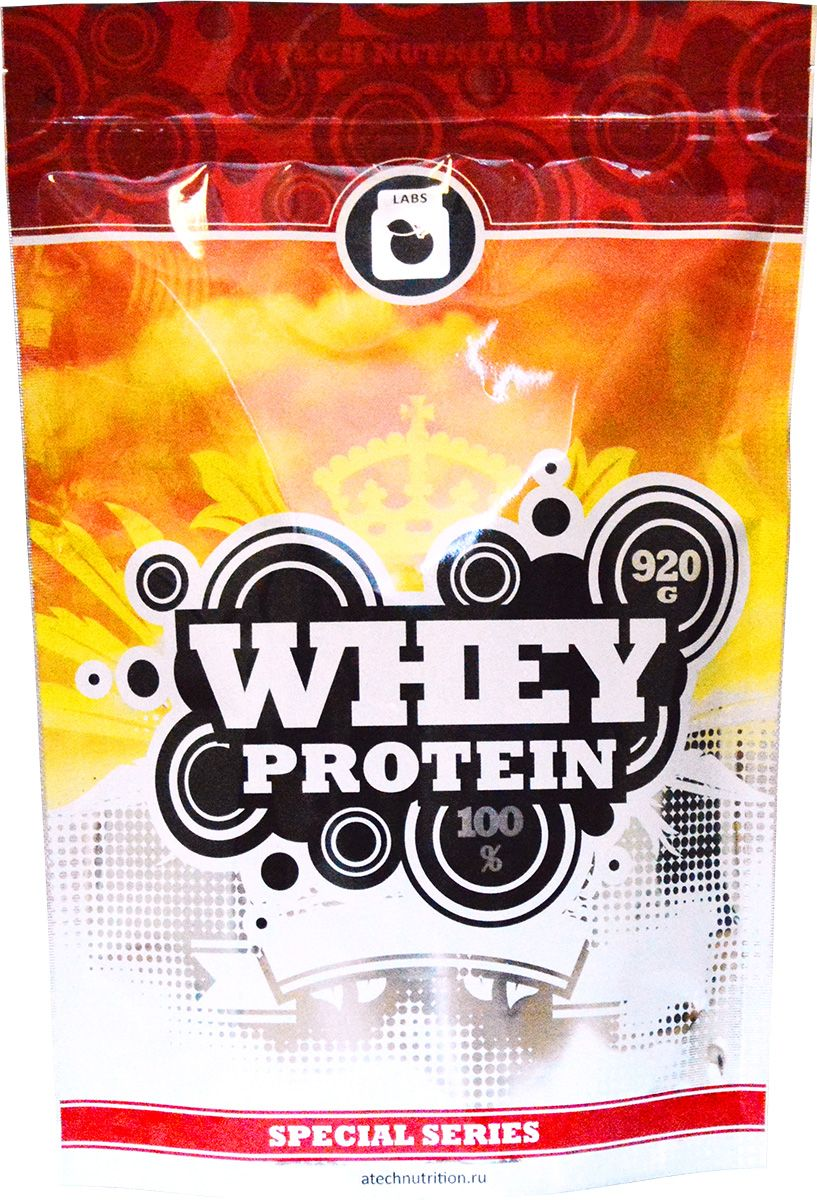 Протеин cывороточный aTech Nutrition Whey Protein 100% Special Series, шоколад, 920 г whey protein complex