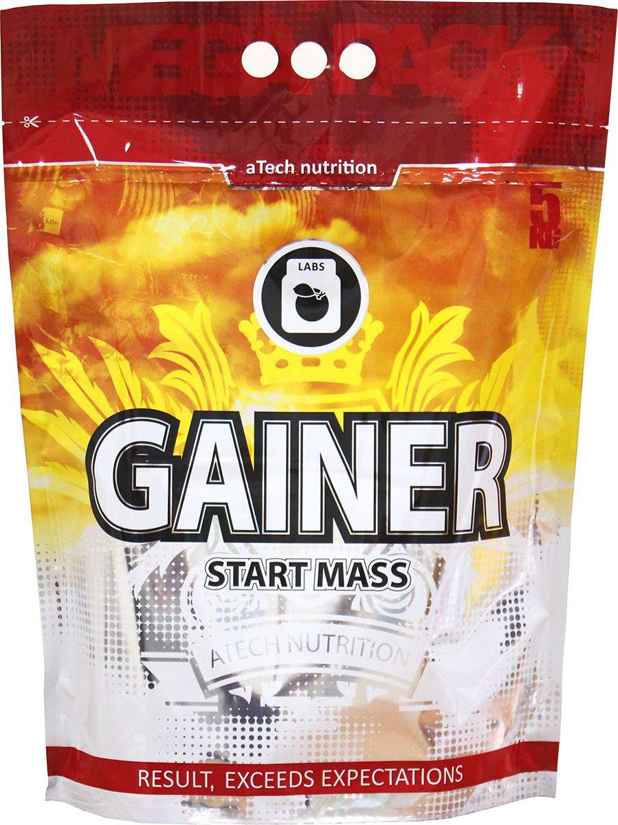 Гейнер aTech Nutrition Gainer Start Mass, печенье и карамель, 5000 г цена
