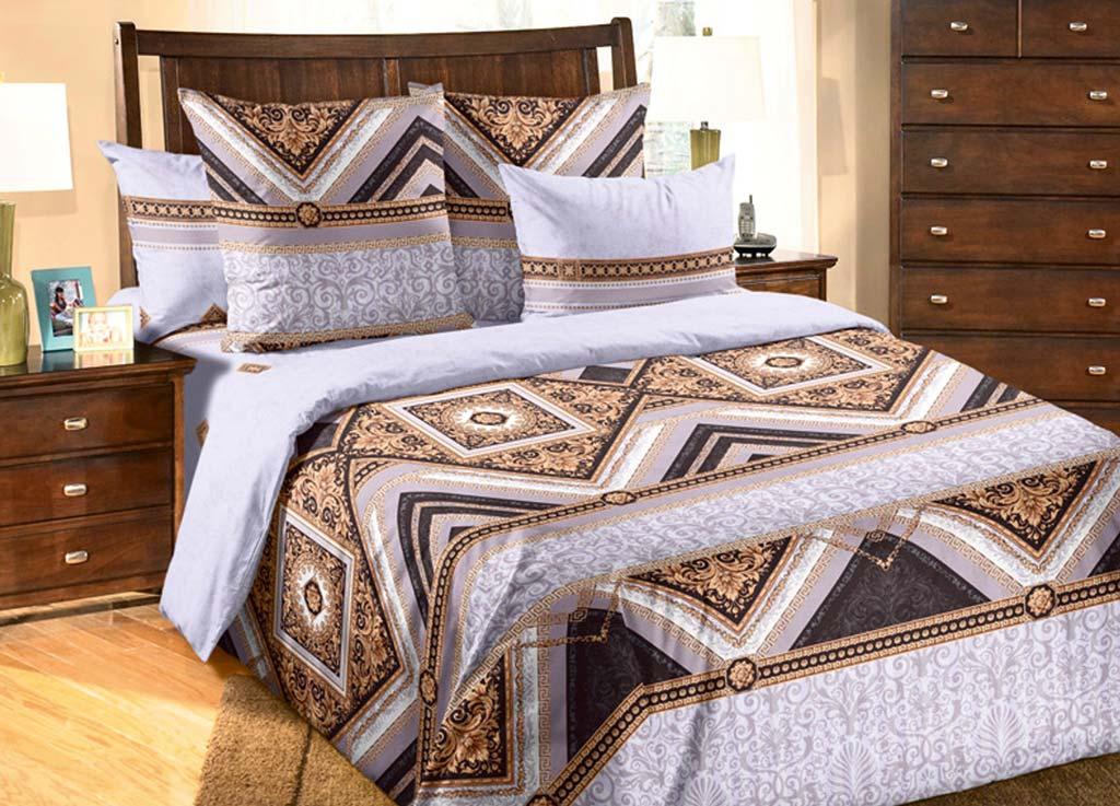 Комплект белья Primavera Королевский, 2-спальный, наволочки 70x70 комплект белья primavera кармен евро наволочки 70x70