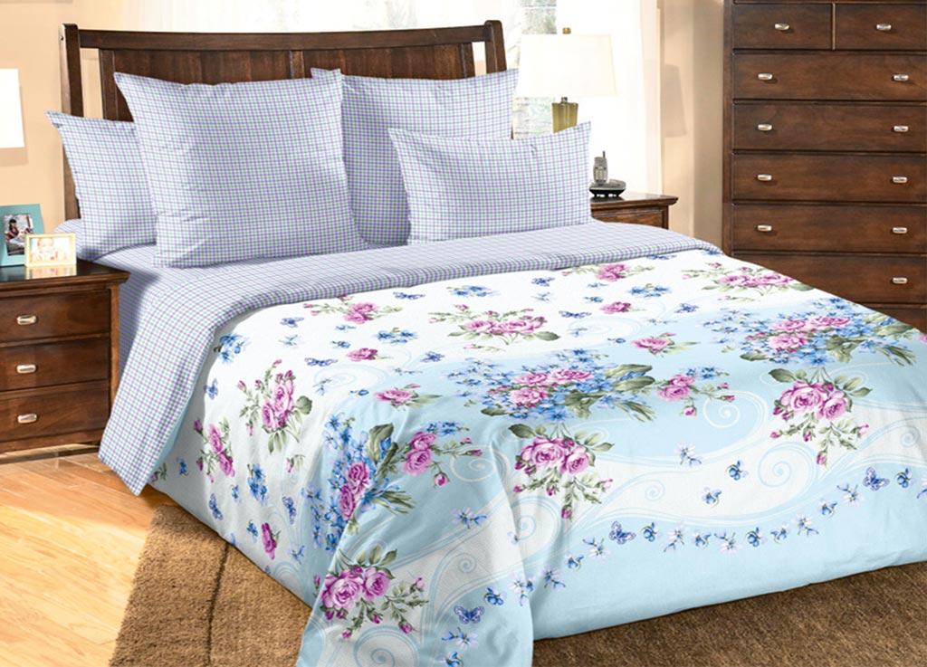 Комплект белья Primavera Нежность, евро, наволочки 70x70, 50x70
