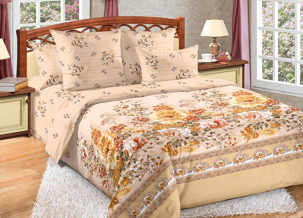 Комплект белья Primavera Пионы, 1,5-спальный, наволочки 70x70