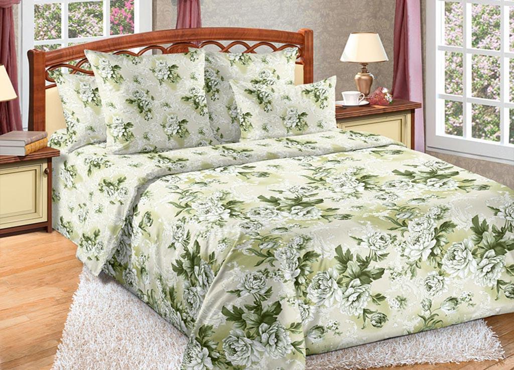 Комплект белья Primavera Цветы , 2-спальный, наволочки 70x70. 89094 комплект белья primavera вензеля 2 спальный наволочки 70x70 цвет коричневый