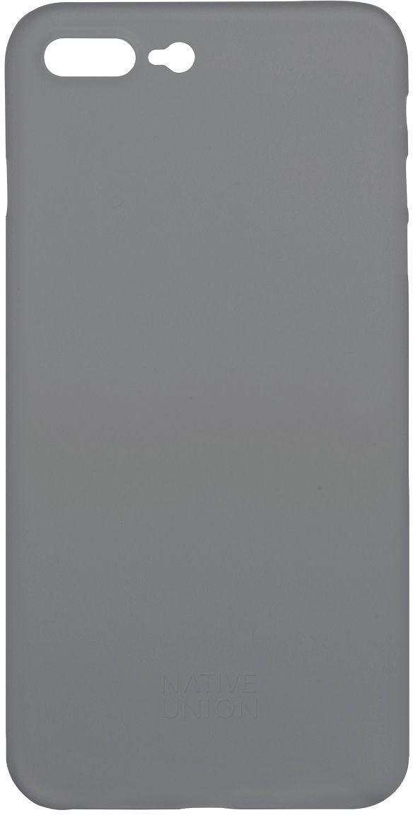 Native Union Clic Air чехол для iPhone 7 Plus/8 Plus, GreyCLIC-SMO-AIR-7PУльтра-тонкий и легкий Native Union Clic Air идеально подстраивается под iPhone 7 Plus, практически не увеличивая его в размерах. Air имеет толщину 0.3 мм. Имеется свободный доступ ко всем разъемам и кнопкам устройства.