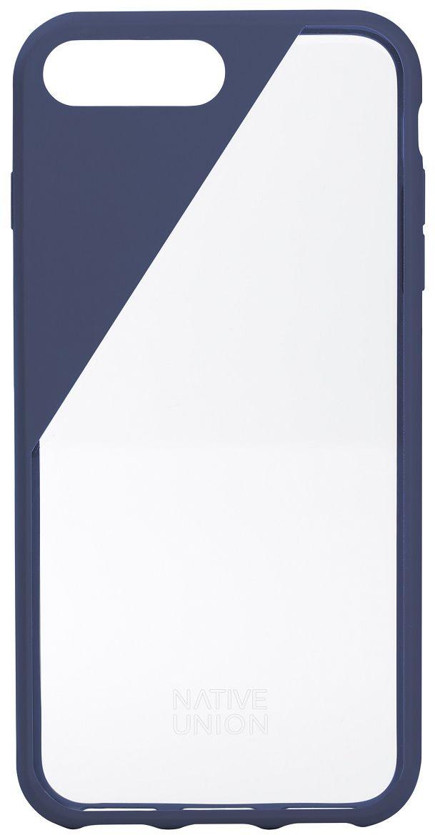 Native Union Clic Crystal чехол для iPhone 7 Plus/8 Plus, BlueCLICCRL-MAR-7PЧехол Native Union Clic Crystal идеально подстраивается под iPhone 7 Plus, практически не увеличивая его в размерах. Выполнен из ударопоглощающих полимеров, защищающих от падений. Выступающая рамка по бокам экрана обеспечит его целостность. Имеется свободный доступ ко всем разъемам и кнопкам устройства. Чехол Native Union Clic Crystal сохраняет оригинальный стиль iPhone. Основным элементом задней панели выступает прочный и прозрачный поликарбонат, оставляющий лидерство дизайна за металлическим корпусом iPhone. Тем не менее, стиль Native Union всё равно легко узнается благодаря отличительному, резкому скосу эластичного бампера.
