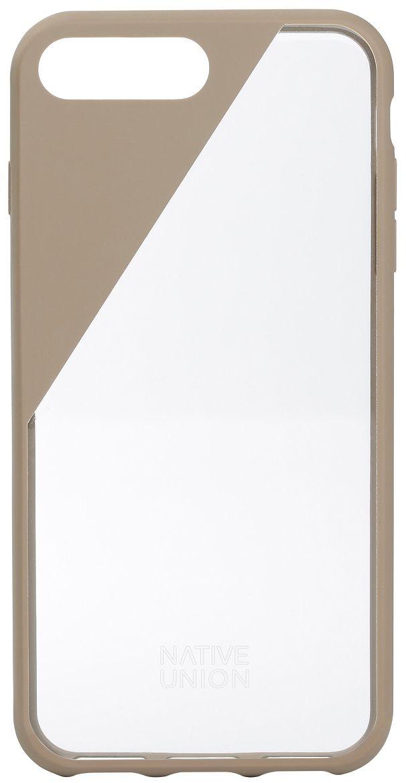 Native Union Clic Crystal чехол для iPhone 7 Plus/8 Plus, BeigeCLICCRL-TAU-7PЧехол Native Union Clic Crystal идеально подстраивается под iPhone 7 Plus, практически не увеличивая его в размерах. Выполнен из ударопоглощающих полимеров, защищающих от падений. Выступающая рамка по бокам экрана обеспечит его целостность. Имеется свободный доступ ко всем разъемам и кнопкам устройства. Чехол Native Union Clic Crystal сохраняет оригинальный стиль iPhone. Основным элементом задней панели выступает прочный и прозрачный поликарбонат, оставляющий лидерство дизайна за металлическим корпусом iPhone. Тем не менее, стиль Native Union всё равно легко узнается благодаря отличительному, резкому скосу эластичного бампера.