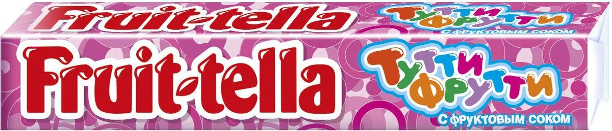 Fruittella Тутти-Фрутти жевательные конфеты, 41 г8252921Жевaтельные конфеты Fruittella Ассорти придутся по вкусу всем любителям сладостей. Fruittella имеет насыщенный и очень сочный вкус различных ягод и фруктов.