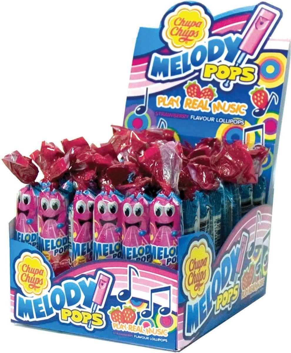 Chupa Chups карамель Melody Pops, 48 шт по 15 г автомобильные ароматизаторы chupa chups ароматизатор воздуха chupa chups chp801