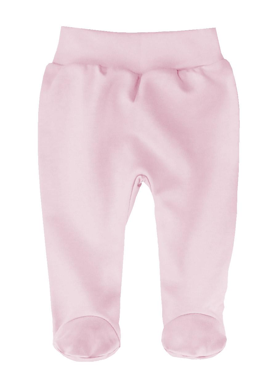 Ползунки КотМарКот Бельчонок, цвет: светло-розовый. 5205. Размер 565205Детские ползунки КотМарКот Бельчонок выполнены из натурального хлопка. Модель с закрытыми ножками дополнена широким эластичным поясом.