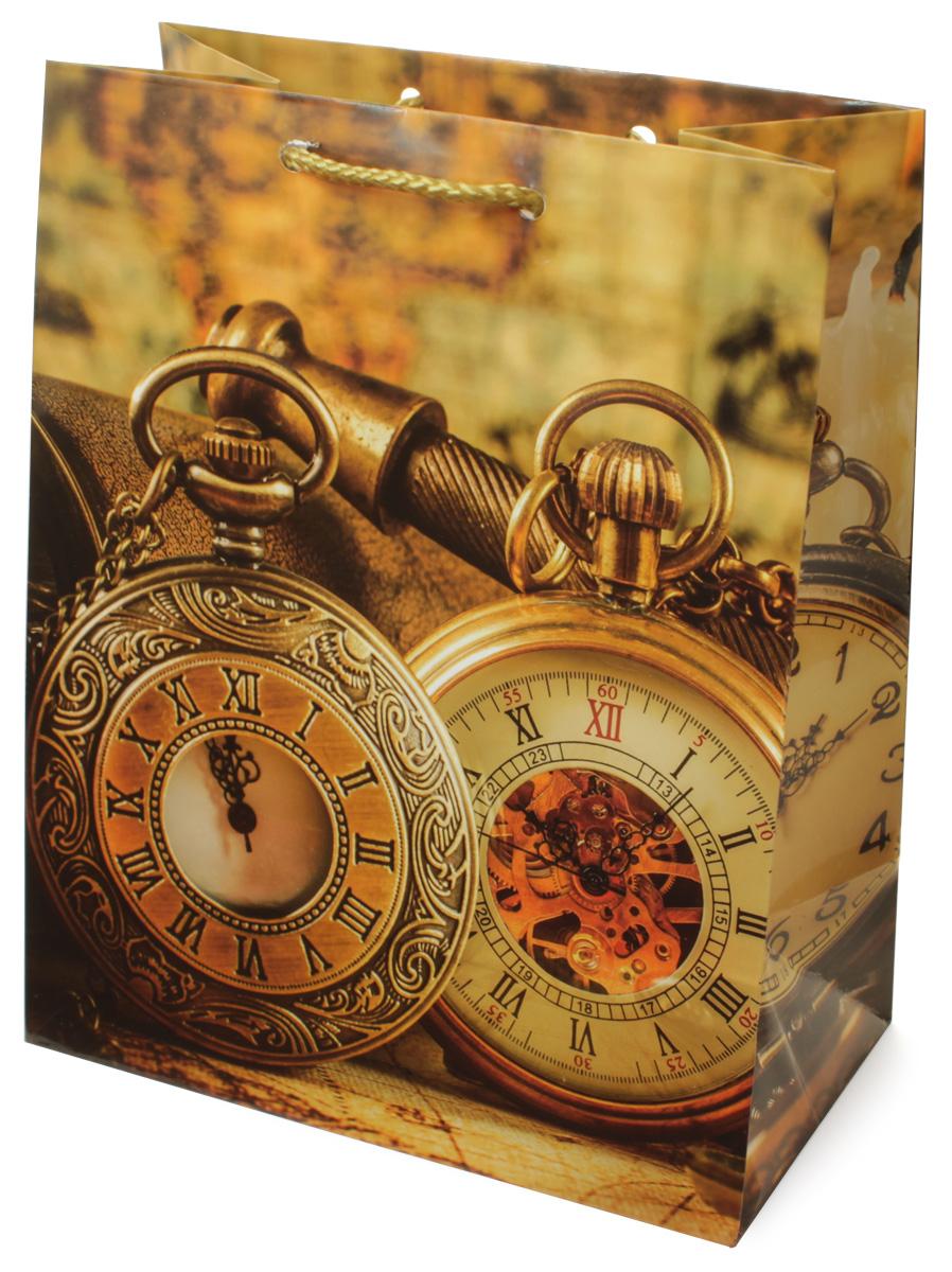 Пакет подарочный МегаМАГ Часы, 18 х 22,7 х 10 см. H2. 2172 M498552Подарочный пакет Мегамаг, изготовленный из плотной ламинированнойбумаги, станет незаменимым дополнением к выбранному подарку. Для удобнойпереноски на пакете имеются ручки-шнурки. Подарок, преподнесенный в оригинальной упаковке, всегда будет самымэффектным и запоминающимся. Окружите близких людей вниманием и заботой,вручив презент в нарядном, праздничном оформлении.
