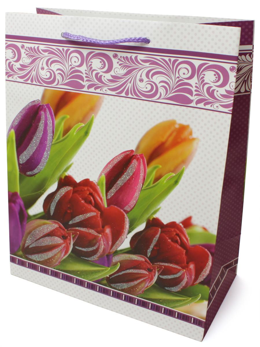 Пакет подарочный МегаМАГ Premium. Цветы, 26,4 х 32,7 х 13,6 см. 3038 LP3038 LPПодарочный пакет МегаМАГ, изготовленный из плотной ламинированной бумаги, станет незаменимым дополнением к выбранному подарку. Для удобной переноски на пакете имеются ручки-шнурки.Подарок, преподнесенный в оригинальной упаковке, всегда будет самым эффектным и запоминающимся. Окружите близких людей вниманием и заботой, вручив презент в нарядном, праздничном оформлении.