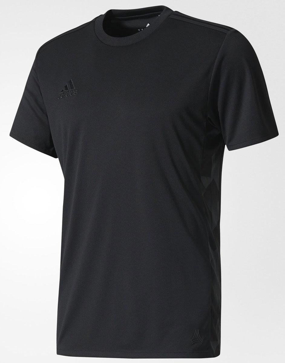 Футболка мужская adidas Tanc Trg Tee, цвет: черный. BK3726. Размер S (44/46)BK3726Мужская футболка adidas Tanc Trg Tee выполнена из 100% полиэстера. Достигай большего в этой мужской футболке. Легкая модель из гладкой ткани, отводящей влагу от тела, сохранит ощущение свежести в течение всего дня. Боковые вставки украшены графическим принтом в уличном стиле. Ткань с технологией climalite быстро и эффективно отводит влагу с поверхности кожи, поддерживая комфортный микроклимат.