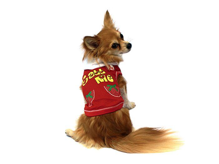Футболка для собак Каскад Call Me, с капюшоном, унисекс, цвет: красный. Размер L52000568Футболка для собак Каскад выполнена из трикотажа. Футболка не ограничивает свободу движений, поэтому собачка будет чувствовать себя в ней комфортно. Модель дополнена капюшоном. Спинка украшена ярким принтом. Модная и удобная трикотажная футболка защитит вашего питомца от пыли и насекомых на улице, согреет дома или на даче. Длина по спинке: 30 см. Одежда для собак: нужна ли она и как её выбрать. Статья OZON Гид