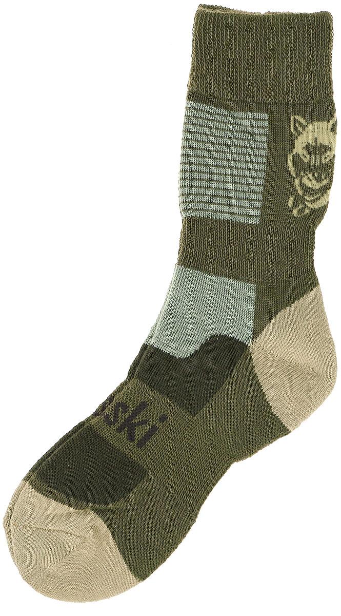Термоноски мужские Haski, цвет: зеленый, оливковый. H002. Размер 38/40H002Мужские термоноски Haski предназначены для ежедневного использования в холодную погоду. Модель выполнена из акрила, полиамида, мериносовой шерсти и эластана. Уплотненное плетение позволяет максимально защитить стопу от холода, а вытянутая по все длине носка зона из более тонкого плетения создана для улучшения влаговывода и вентиляции ноги.Эластичная поддержка свода стопы и лодыжки комфортно фиксируют носок, не позволяя ему сползать. Благодаря многозональной структуре модель функциональна и удобна.