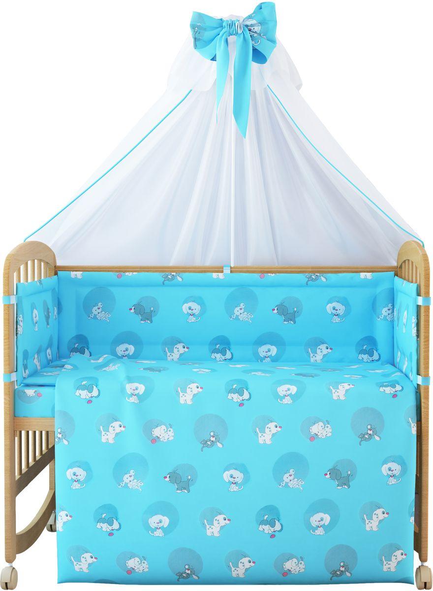 Фея Комплект белья для новорожденных Наши друзья цвет голубой 7 предметов цена 2017