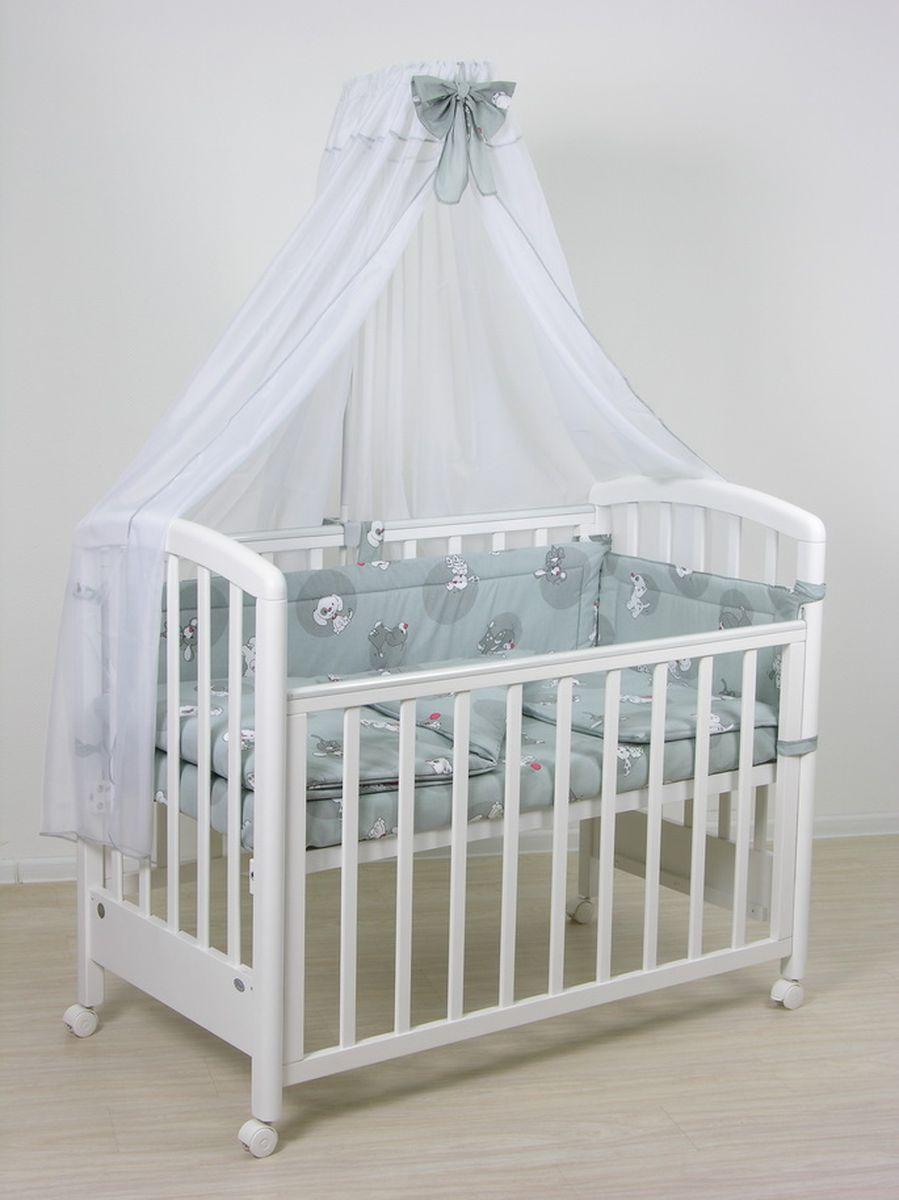 Фея Комплект белья для новорожденных Наши друзья цвет серый 7 предметов фея комплект белья для новорожденных веселая игра цвет зеленый 7 предметов 1011 4