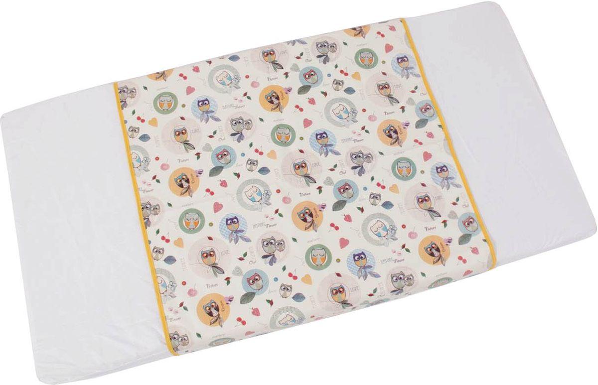 Фея Пеленка детская Совы цвет белый 68 х 100 см