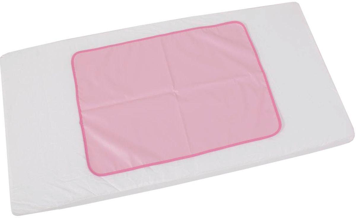 Фея Клеенка подкладная цвет розовый 48 х 68 см