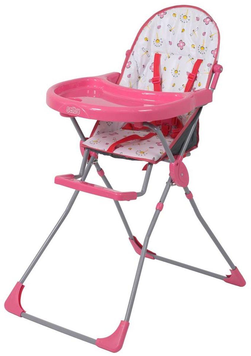 Selby Стульчик для кормления цвет розовый 5600-02
