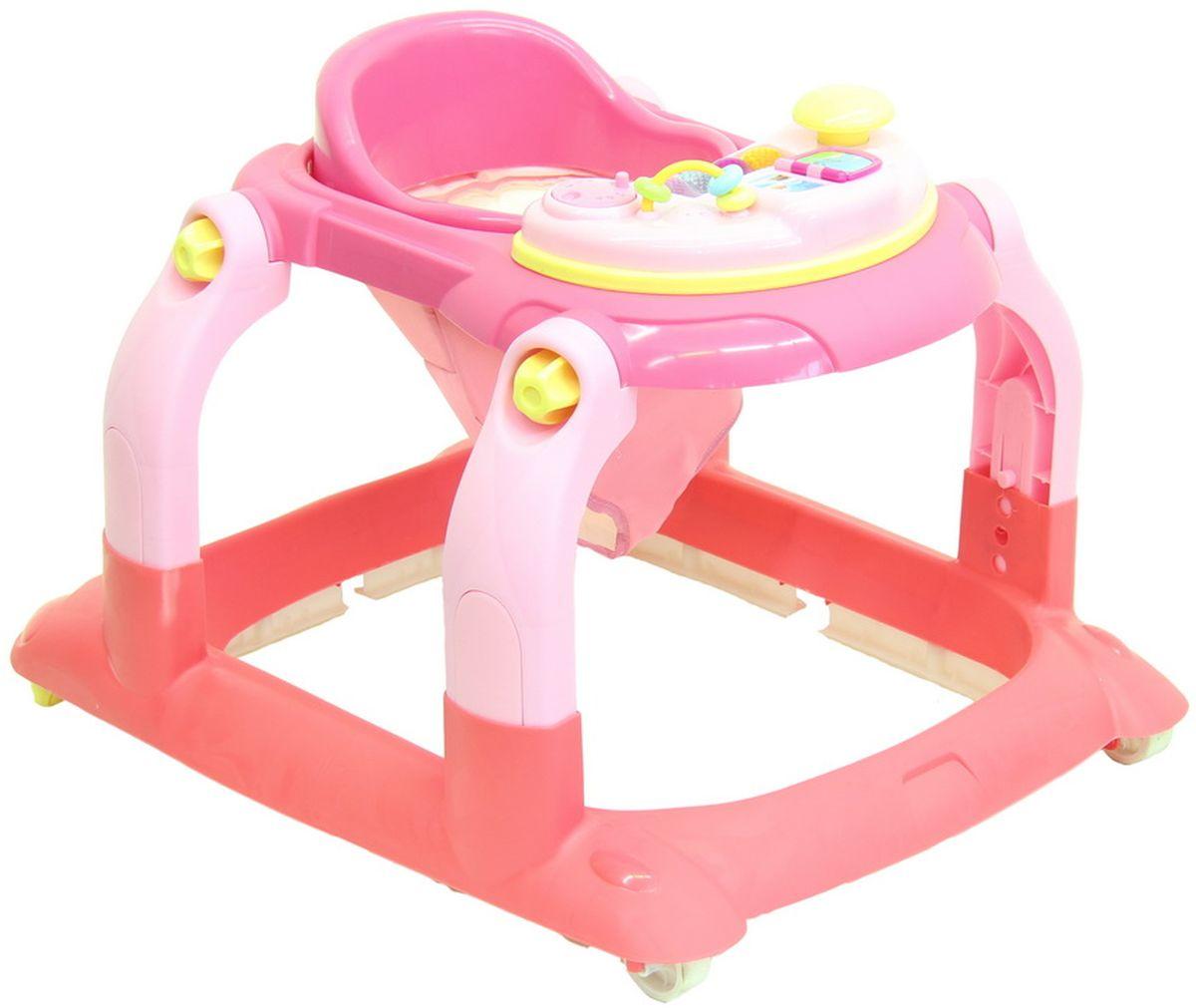 Selby Ходунки цвет розовый 827409 -  Ходунки, прыгунки, качалки