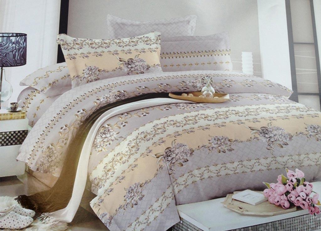 Комплект белья Primavera Комплимент, 1,5-спальный, наволочки 70x70, цвет: серый89864