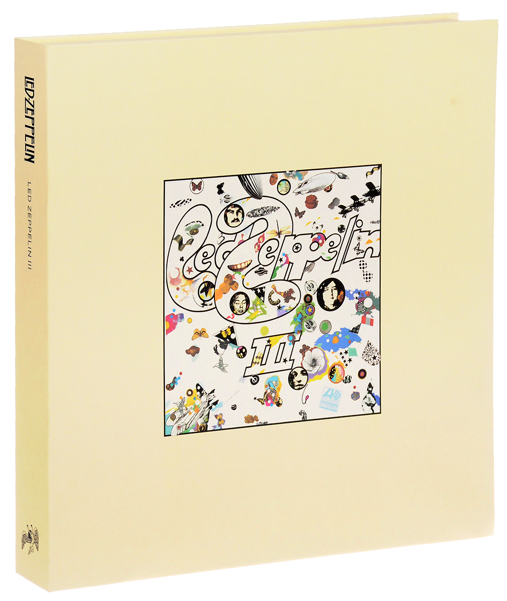 Led Zeppelin Led Zeppelin. Led Zeppelin III. Super Deluxe Edition (2 LP + 2 CD) cd led zeppelin iv deluxe cd edition