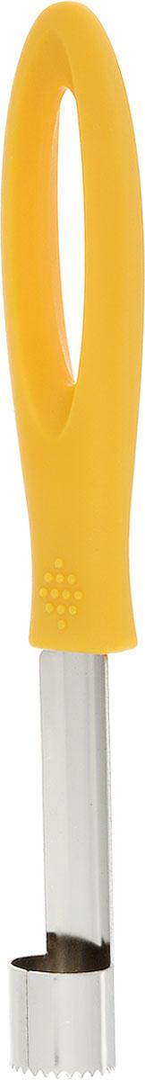 Приспособление для удаления сердцевины яблока Menu Штрудель, цвет: желтый, длина 20,5 смSHR-01_желтыйПриспособление для удаления сердцевины яблока Menu Штрудель изготовлено из нержавеющей стали и высококачественного пластика.Изделие отлично подходит для вырезания сердцевины из яблок и груш. Практичный и удобный отделитель сердцевины яблока Menu Штрудель займет достойное место среди аксессуаров на вашей кухне.Длина изделия: 20,5 см.