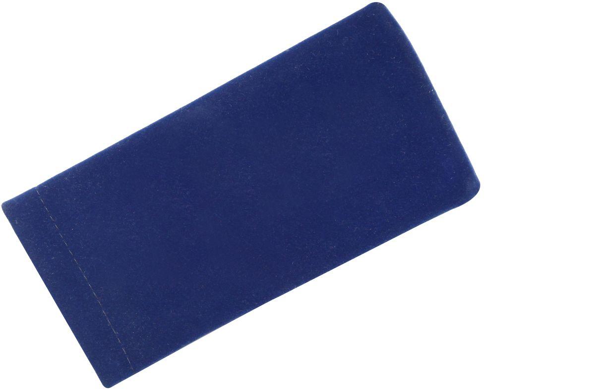 Proffi HomeФутляр для очков Fabia Monti текстильный, мягкий, широкий, цвет:  синий Proffi Home
