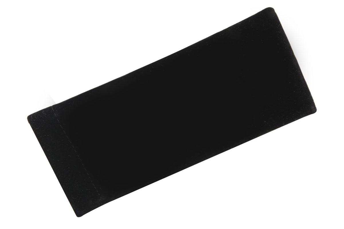 Proffi HomeФутляр для очков Fabia Monti текстильный, мягкий, широкий, цвет:  черный Proffi Home