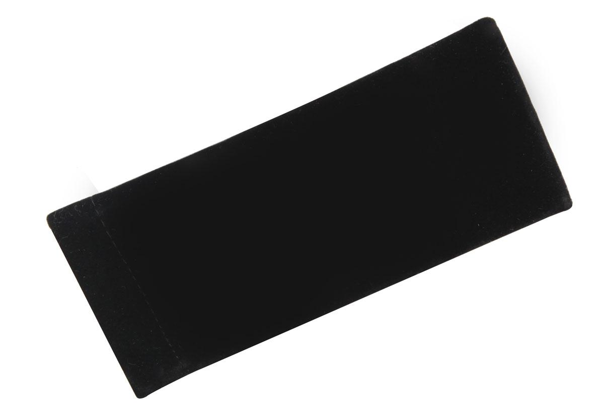 Proffi HomeФутляр для очков Fabia Monti текстильный, мягкий, узкий, цвет:  черный Proffi Home