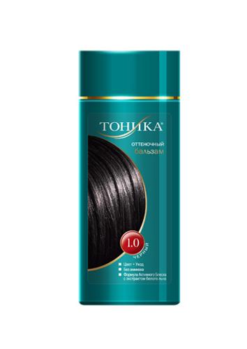 Тоника Оттеночный бальзам 1.0 Черный, 150 мл6122Красивые и здоровые волосы- важный элемент имиджа красивой женщины! Черный цвет волос придаст вашему образу таинственность.Подходит для русых, темно-русых и черных волос Не содержит спирт, аммиак и перекись водорода Содержит уникальный экстракт белого льна Красивый оттенок + дополнительный уход Стойкий цвет без вреда для волос