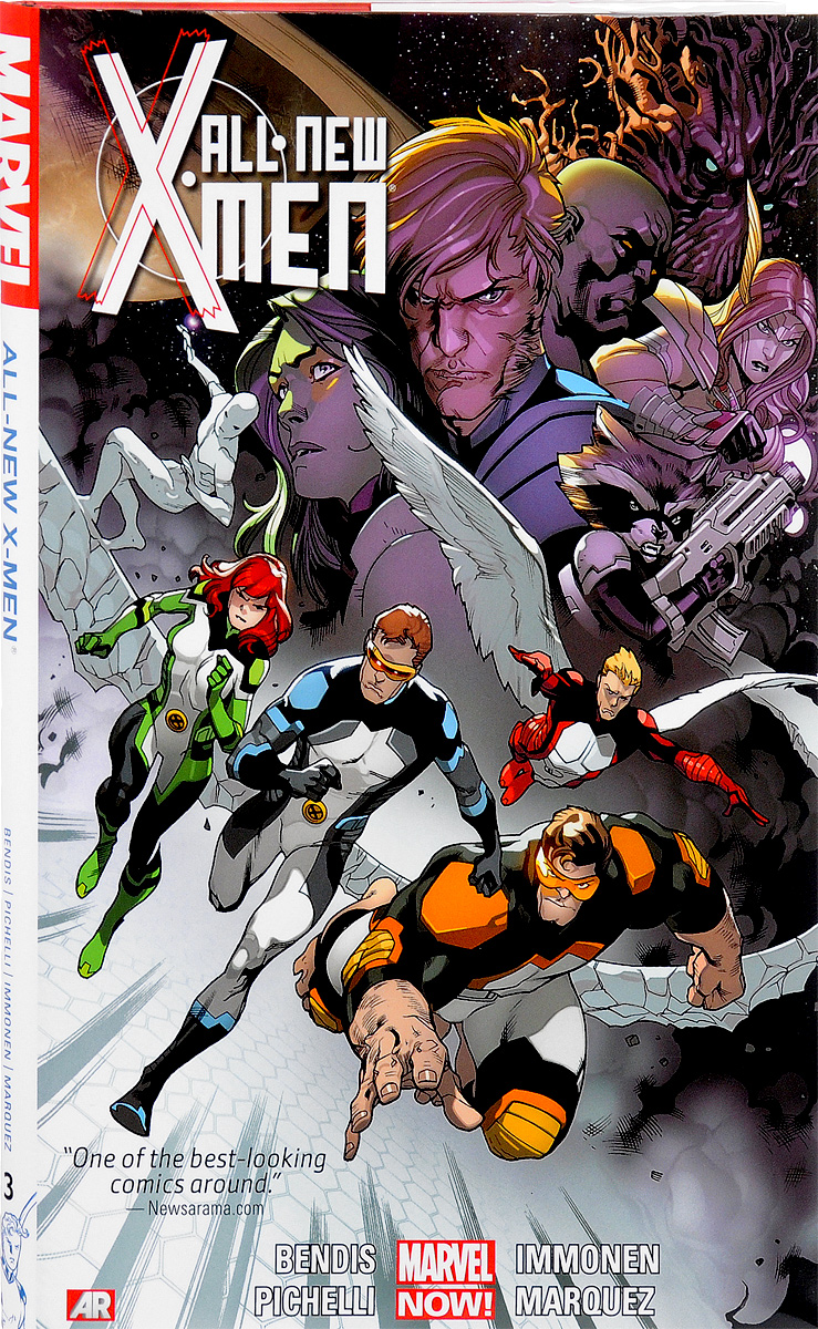 All-New X-Men: Volume 3 verne j journey to the centre of the earth