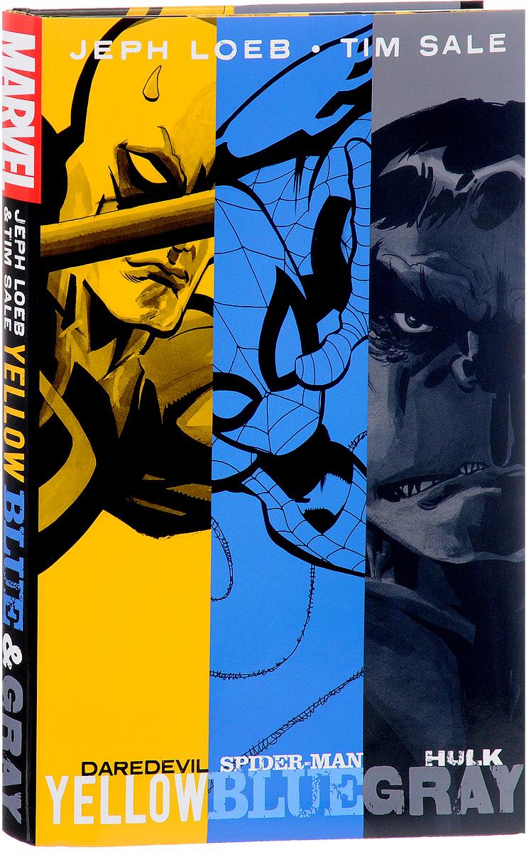 Jeph Loeb and Tim Sale: Yellow, Blue and Gray original 98