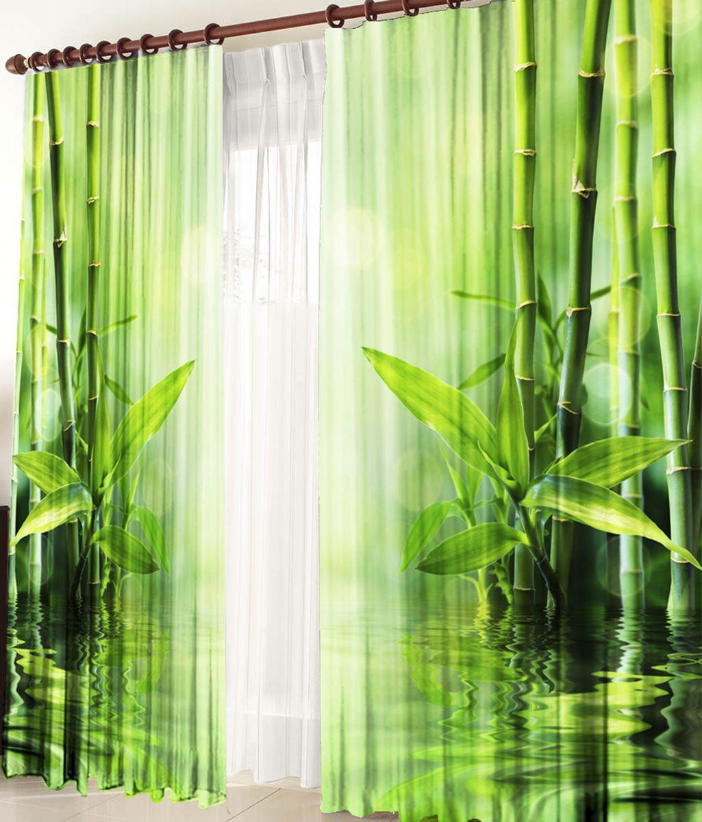 Комплект фотоштор Zlata Korunka Тростник, на ленте, высота 270 см21237Комплект фотоштор Zlata Korunka изготовлен из габардиновой ткани высочайшего качества. Фотошторы способны не пропускать самый яркий свет, их можно гладить и стирать. Рекомендации по уходу: бережная стирка при 30°С, деликатный отжим, отбеливание запрещено, гладить при температуре не более 150°С. Светопоглощение 70%. Плотность ткани: 150 г/м2. Оттенок изделия может отличаться от представленного на сайте в силу особенностей цветопередачи фототехники и вашего монитора.