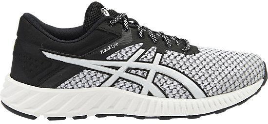 Кроссовки для бега женские Asics Fuzex Lyte 2, цвет:  светло-серый, черный.  T769N-0190.  Размер 7H (37,5) Asics