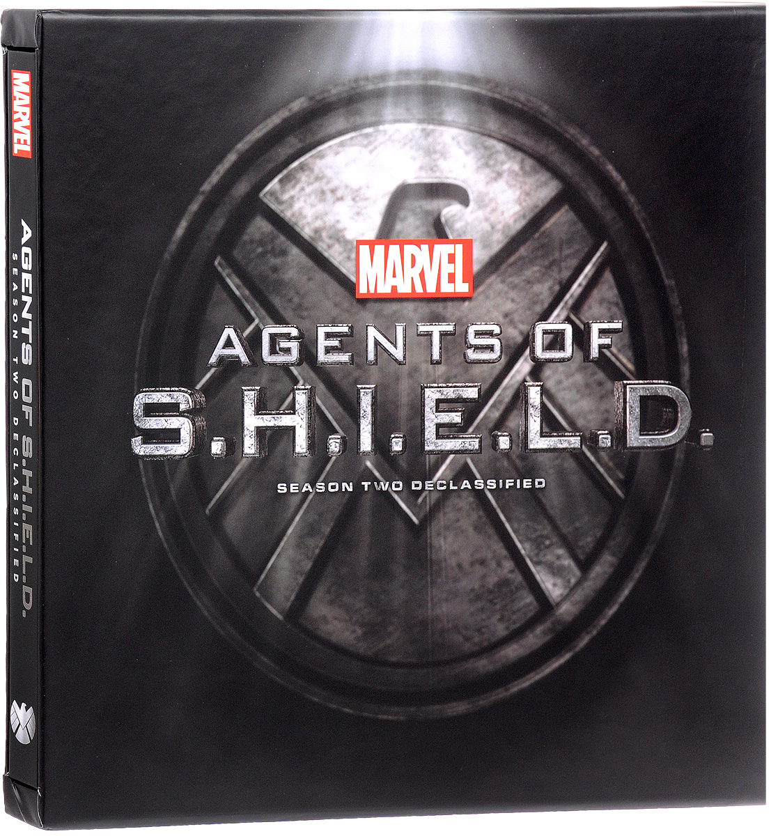 Marvel's Agents of S.H.I.E.L.D.: Season Two Declassified 13 interlayer a4 plastic candy color document bag file folder expanding wallet bill folder 330mm x 255mm x 35mm deli 72386 02