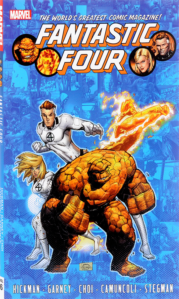 Fantastic Four: Volume 6 ресивер dvb t2 d color dc1501hd черный