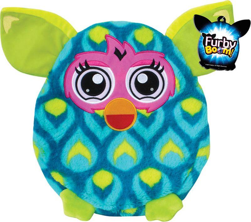 1TOY Мягкая игрушка-подушка Furby цвет бирюзовый салатовый 30 см мягкая игрушка кайл 12см с чипом 1toy южный парк