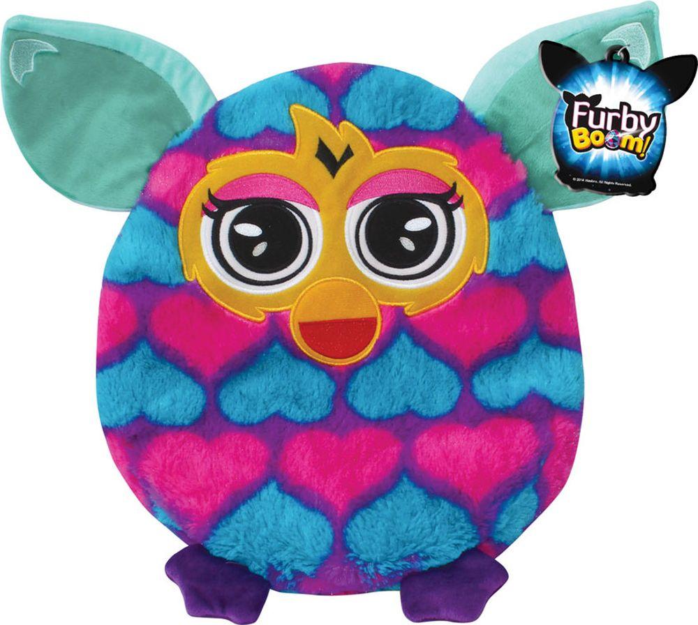 1TOY Мягкая игрушка-подушка Furby цвет голубой фуксия 30 см мягкая игрушка кайл 12см с чипом 1toy южный парк