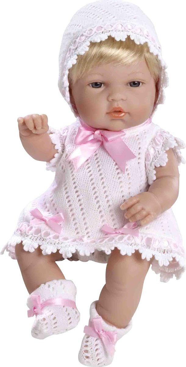 Arias Пупс цвет одежды белый розовый 33 см Т59268 arias пупс цвет платья белый розовый 42 см т59289